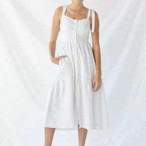New $79 Urban Outfitters UO Positano Midi Dress M